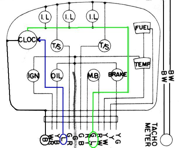 tech wiki tachometer wiring datsun 1200 club