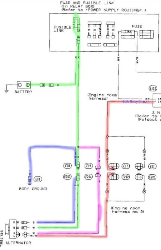 Nissan Alternator Wiring Better Wiring Diagram Online
