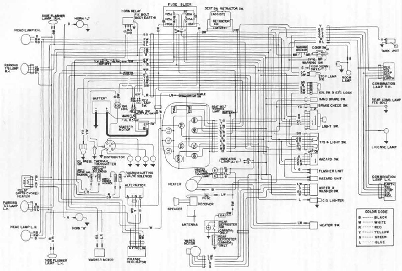 85 nissan 720 wiring diagram