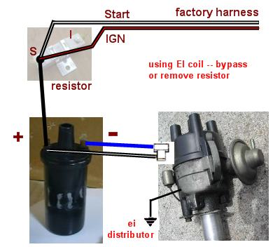 Electronic Ignition Conversion - Factory Datsun \