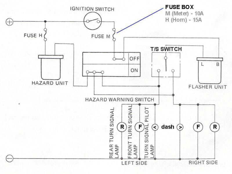 Tech Wiki - Lamp Wiring  Datsun 1200 Club