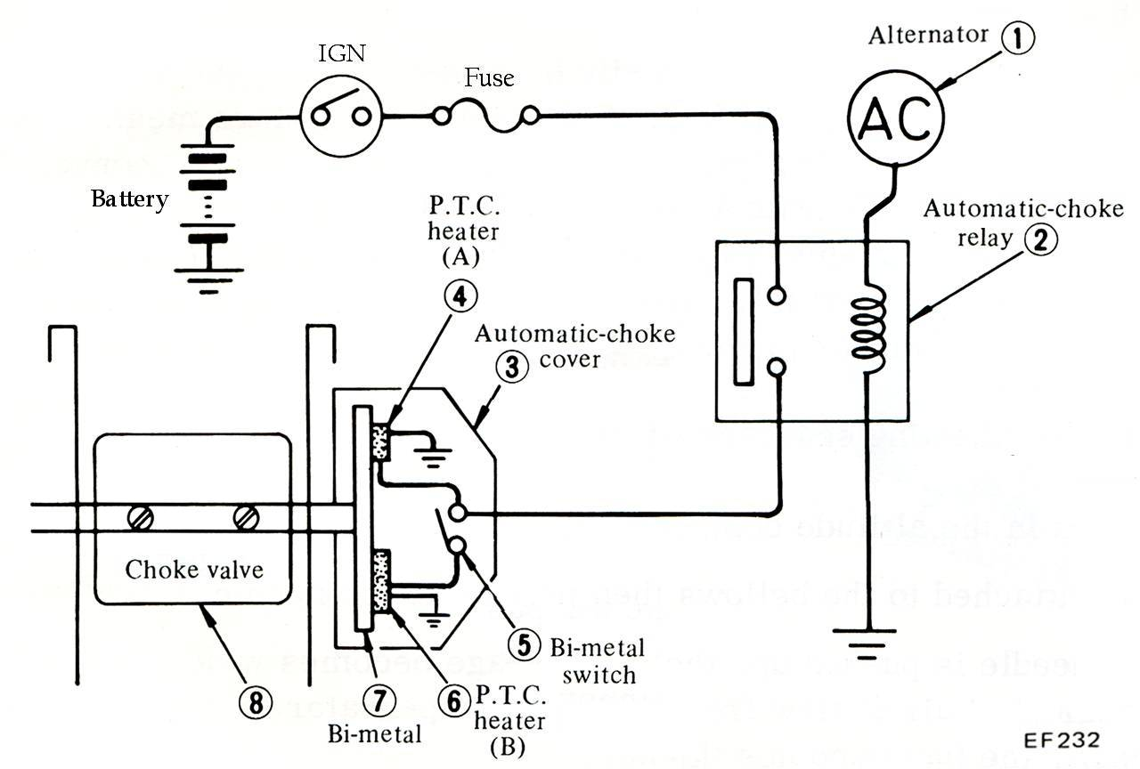 cj7 electric choke wiring diagram