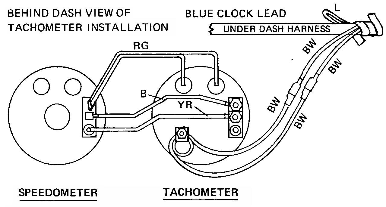 how to wire up a tachometer