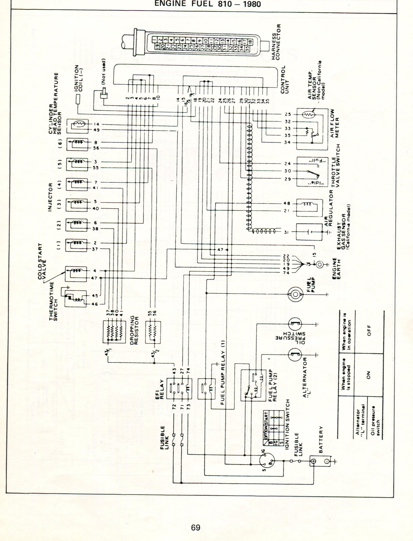 1977 datsun 280z radio wiring