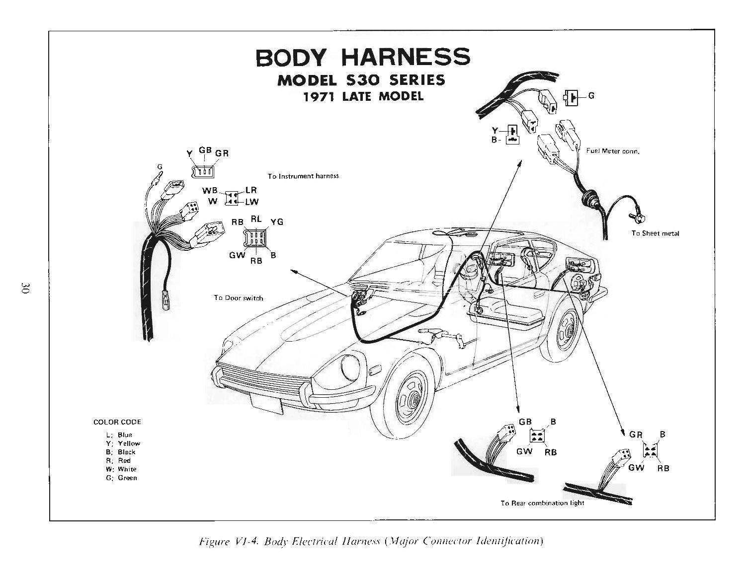 1971 240z wiring diagram