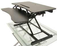 Desktop Tabletop Standing Desk Adjustable Height Sit to ...