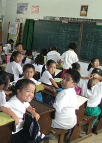 Pupils in a Davao public school. (davaotoday.com photo by Barry Ohaylkan)