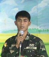Lt. Col. Frank Barol AFP Philippines