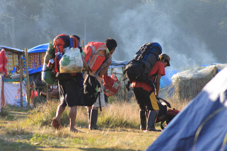 Eco group says Mt. Apo not yet ready for hikers
