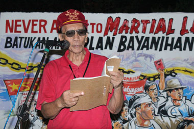 Real narrative of Martial Law comes from detainees, says writer