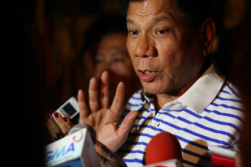 "Duterte defends police ops as ""legal, proper, moral"""