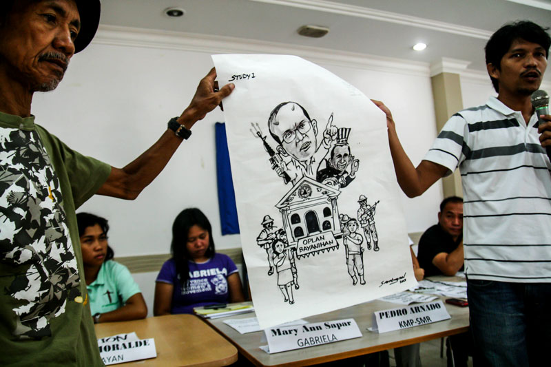 Activists get ready for Aquino's 4th SONA