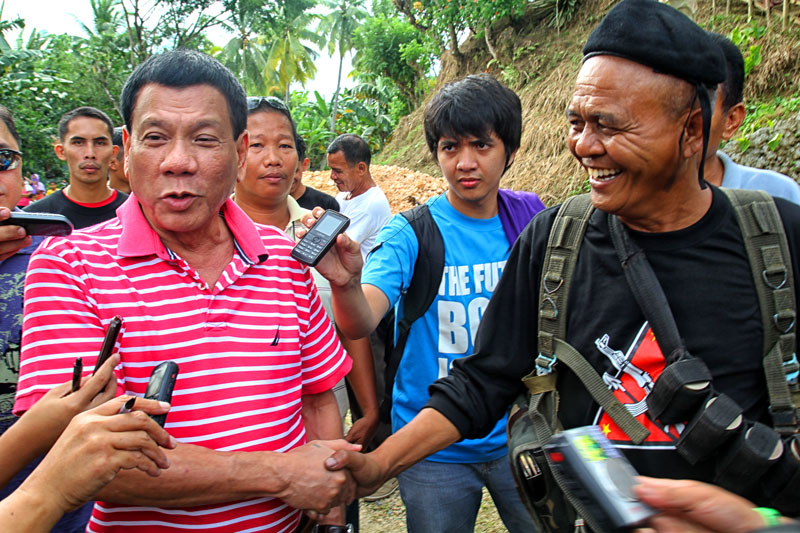 Duterte won't close window to talk peace with Reds