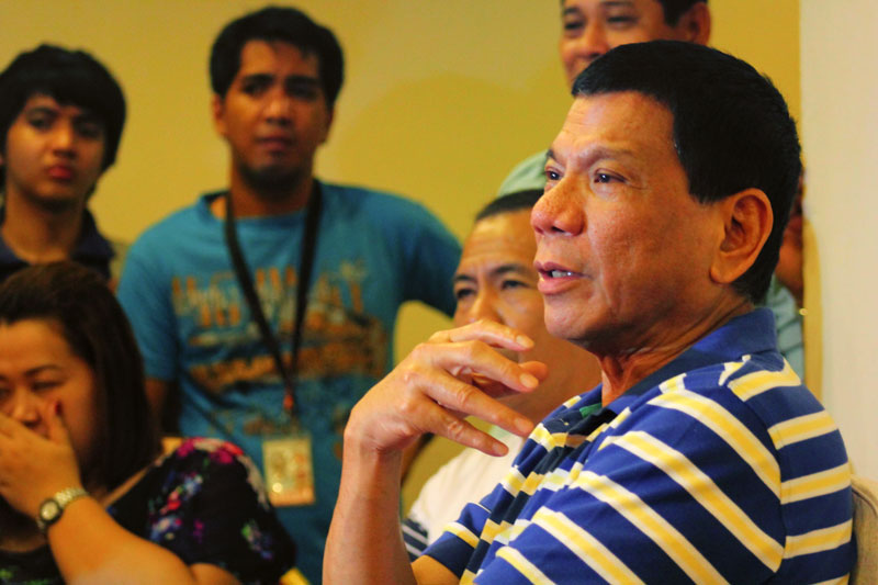 """We'll go ahead with Kadayawan with additional security,"" says Duterte"