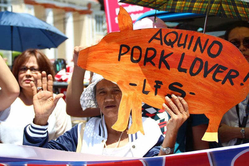Palace dared to address PNoy's pork, patronage politics , too