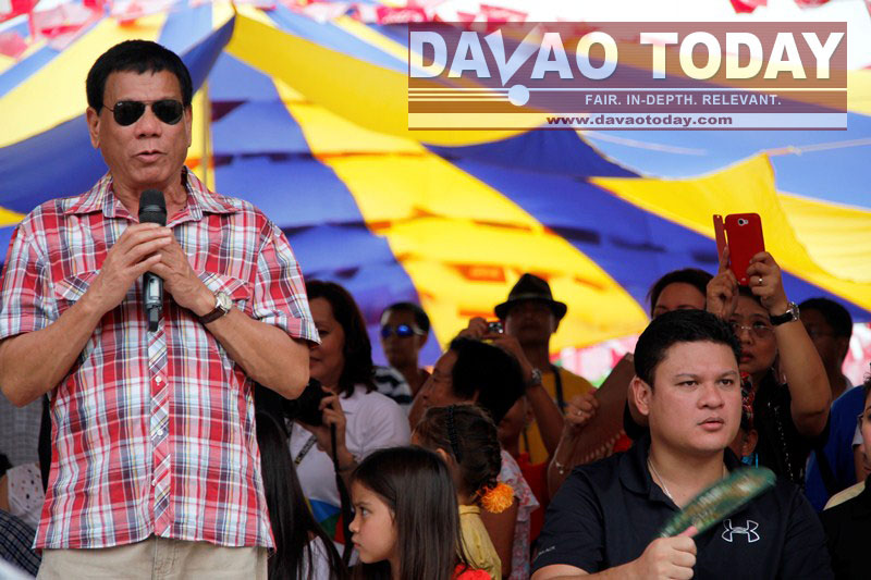 Duterte ends Kadayawan 2013 rooting for peace talks
