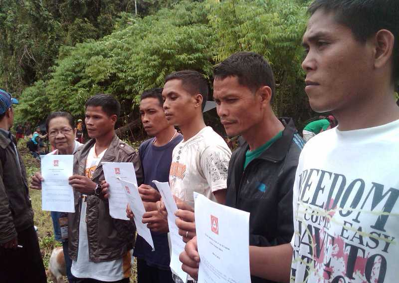 Barangay leader quits as Cafgu after released from NPA captivity