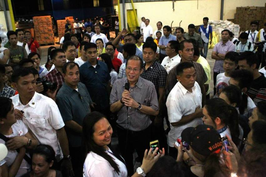Noynoy, not God, was absent when Yolanda struck, says lawmaker