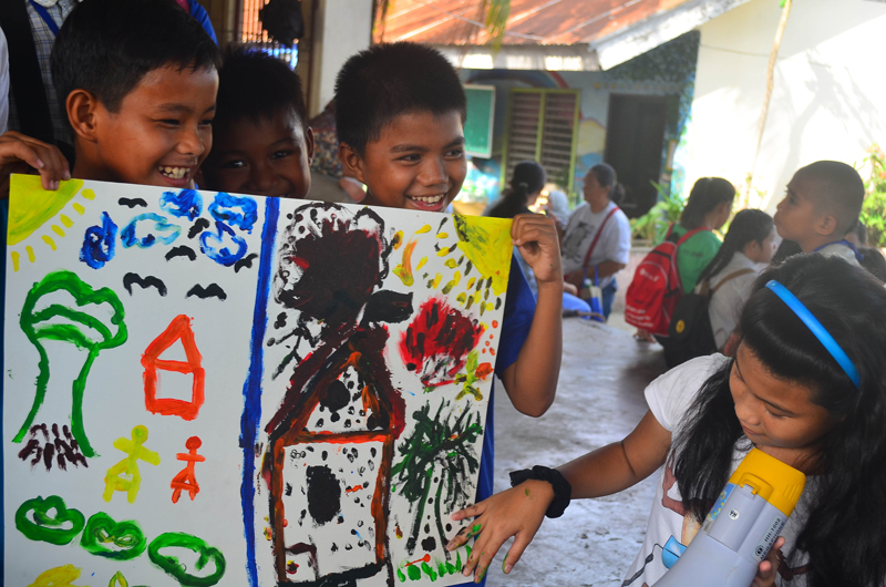 Traumatized children resume classes in Zambo
