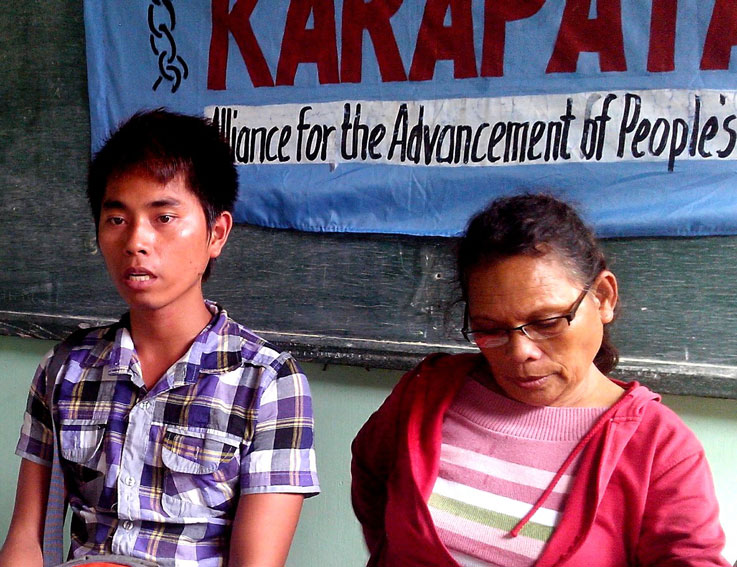 Davao Oriental typhoon victims discouraged from joining protest rallies