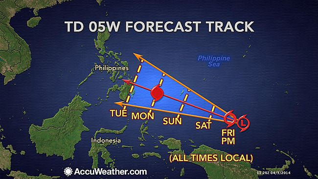 'Domeng' weakens into LPA but will dump rains in Eastern Visayas