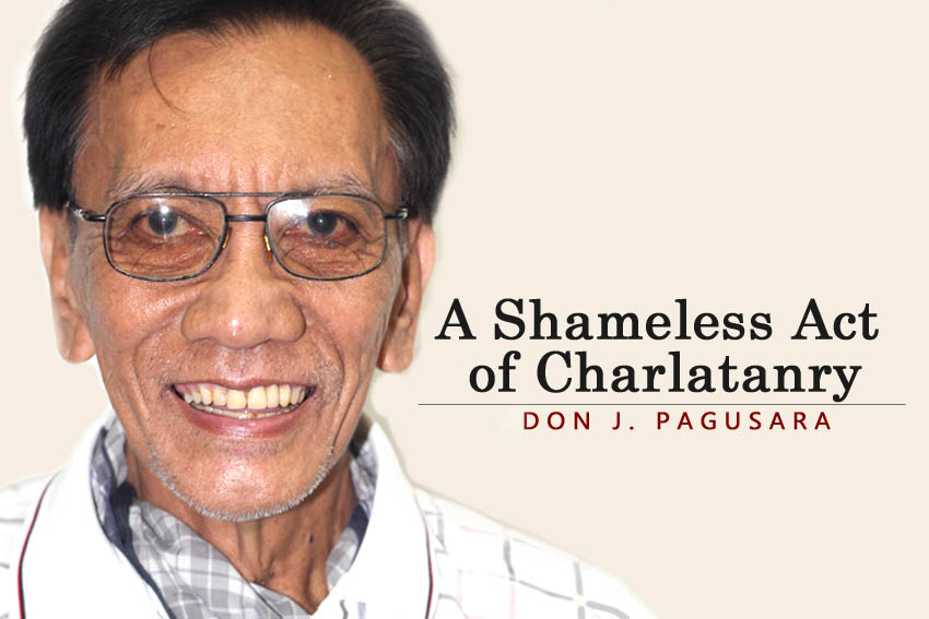 A Shameless Act of Charlatanry