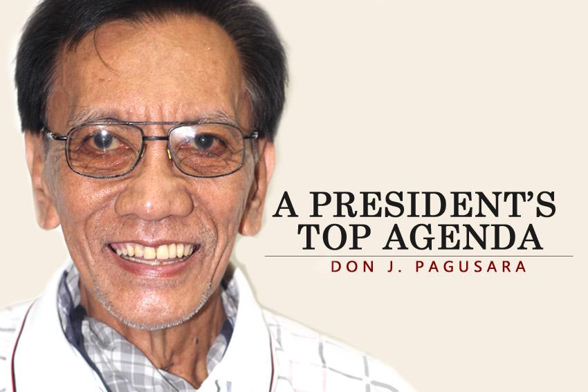 A President's Top Agenda