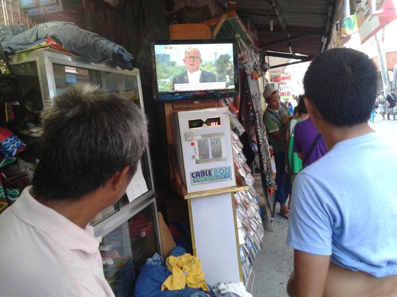 PISO-PISO CABLE TV