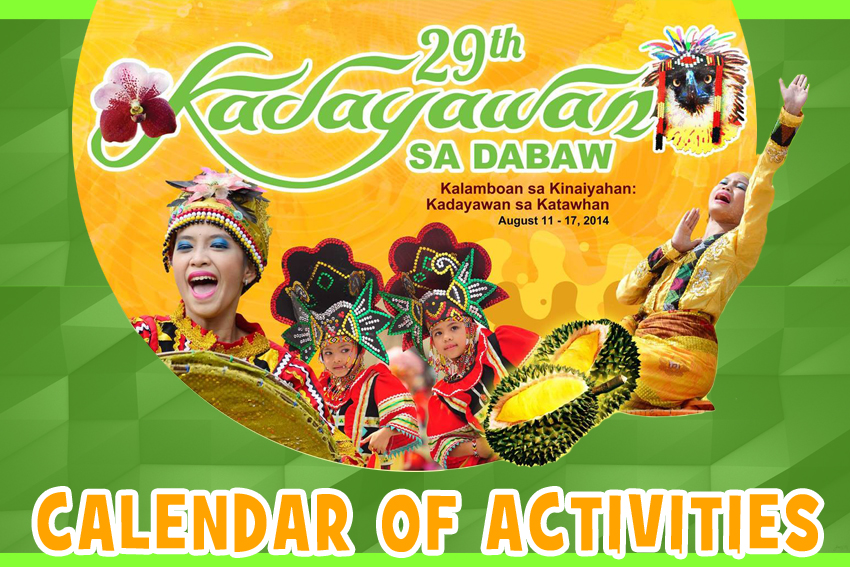 Kadayawan 2014 Activities