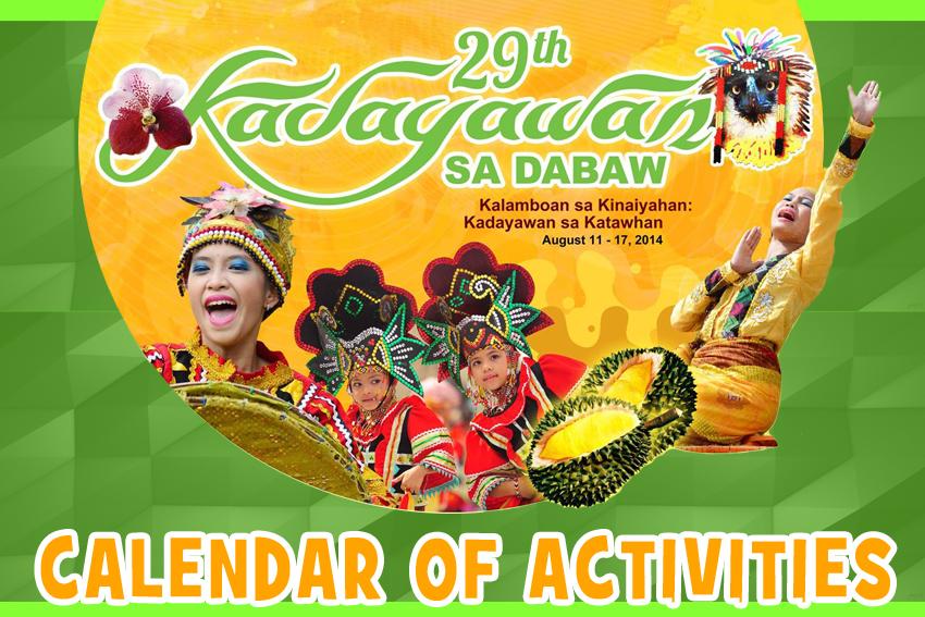 Kadayawan 2014 Activities