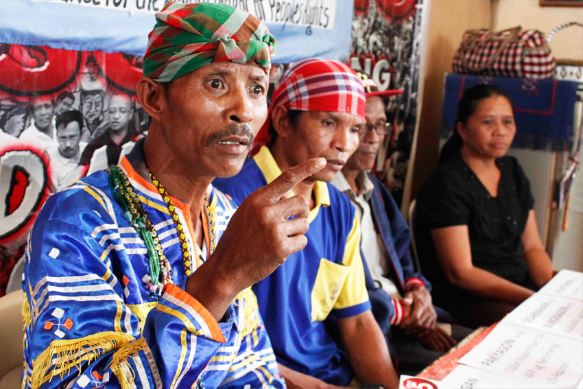 Lumads hit Army's backing of tribal paramilitary groups