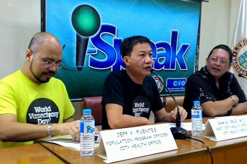 Davao health office encourage men to participate in family planning procedures