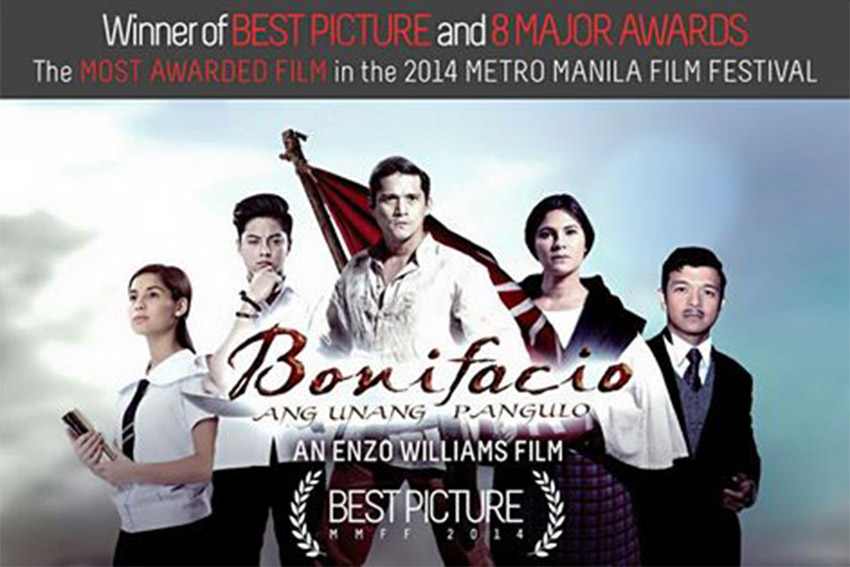 "Mall's pullout of filmfest winner ""Bonifacio"" gets flak"