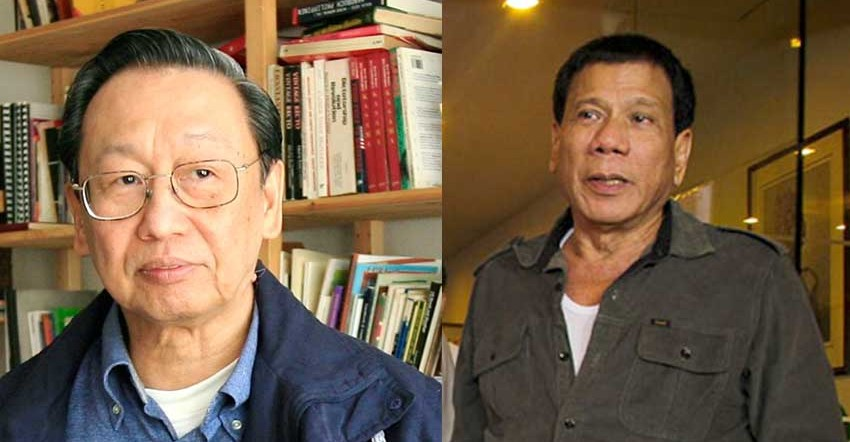 Joma says Duterte most open to cooperation