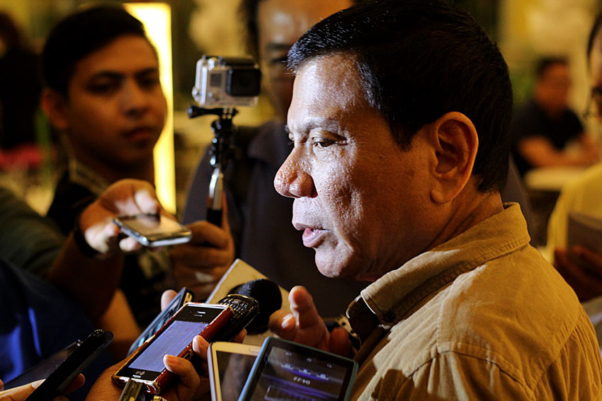 WATCH: Duterte says no to all out war in Mindanao