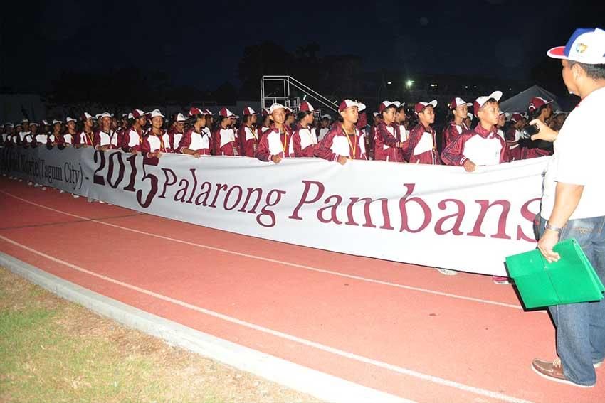 Peace + sports= Palarong Pambansa 2015