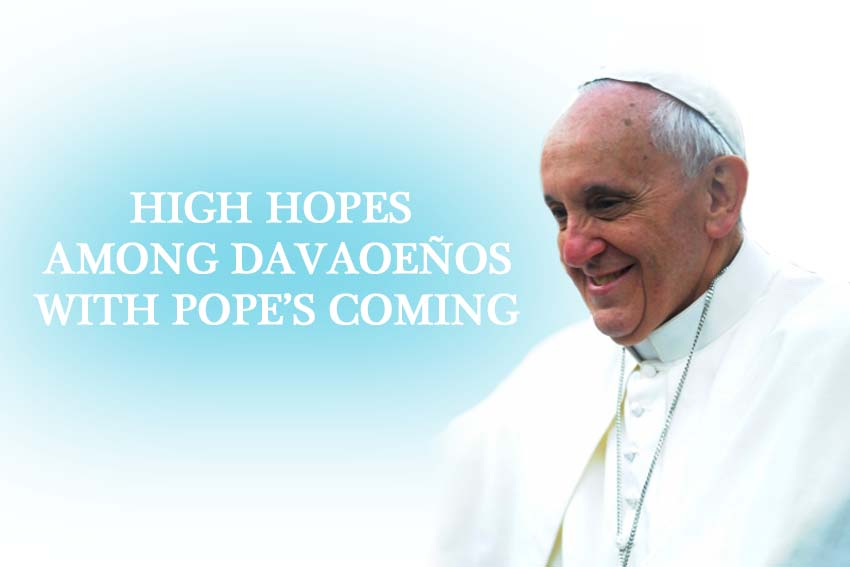 High hopes among Davaoenos with Pope's coming