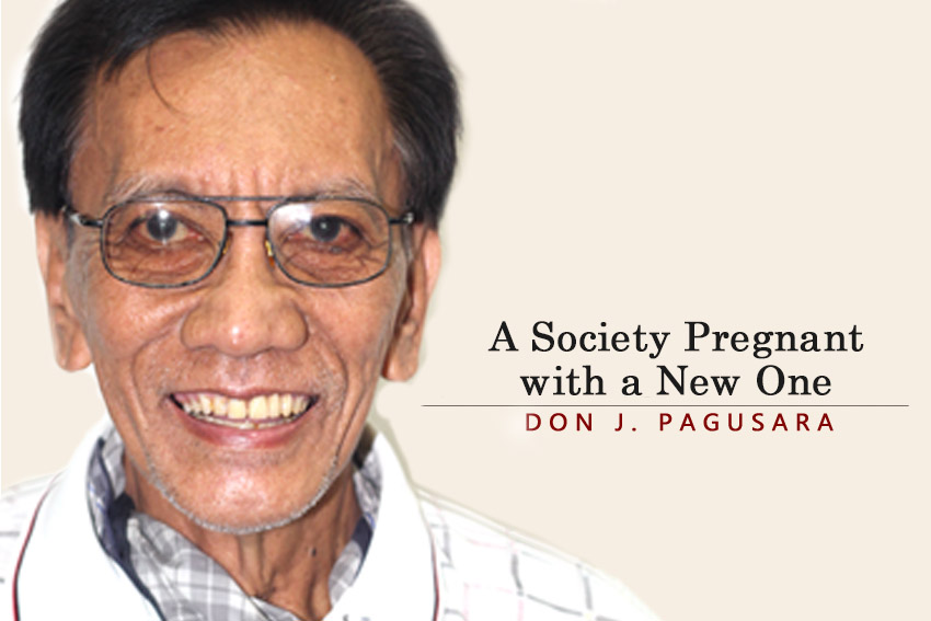 A Society Pregnant with a New One