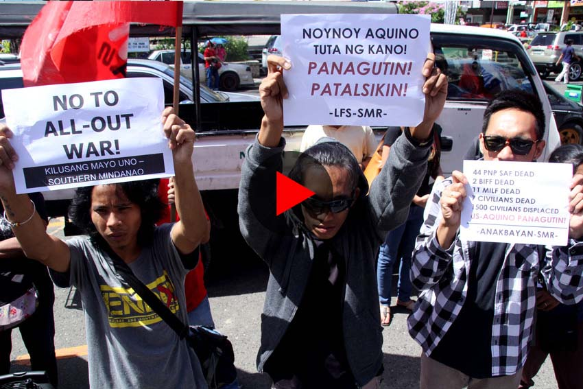 WATCH: Fil-Am war commemoration marked with protest