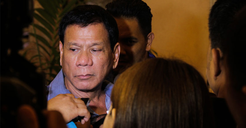 Duterte signs EO on IP rep