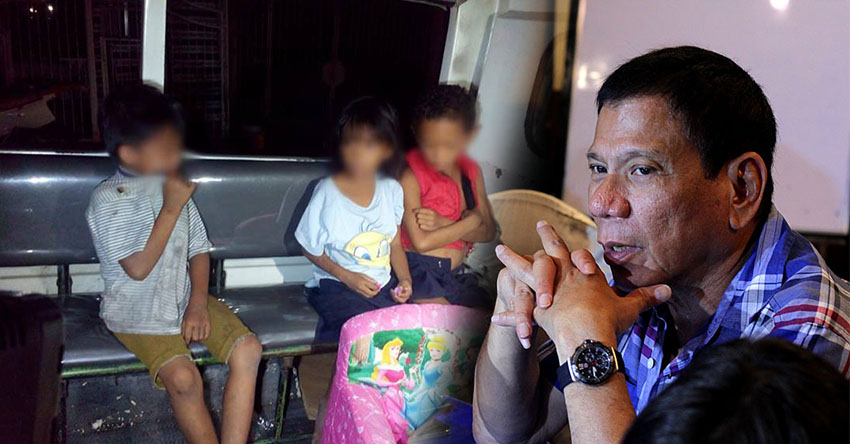 Groups disagree on Duterte's arrest of parents of 'neglected' children