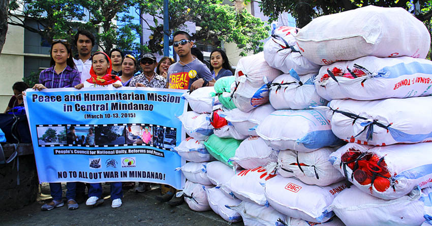 Peace group to give aid to Maguindanao evacuees