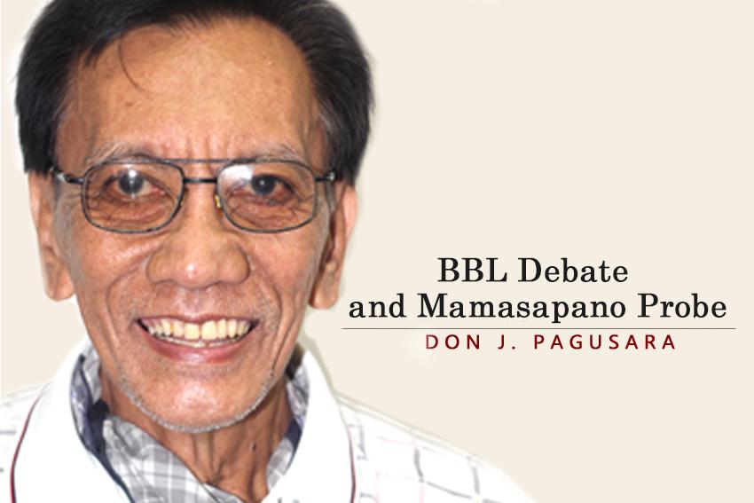 BBL Debate and Mamasapano Probe