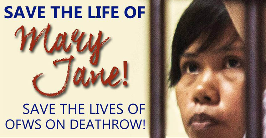 Davao activists appeal to save Mary Jane