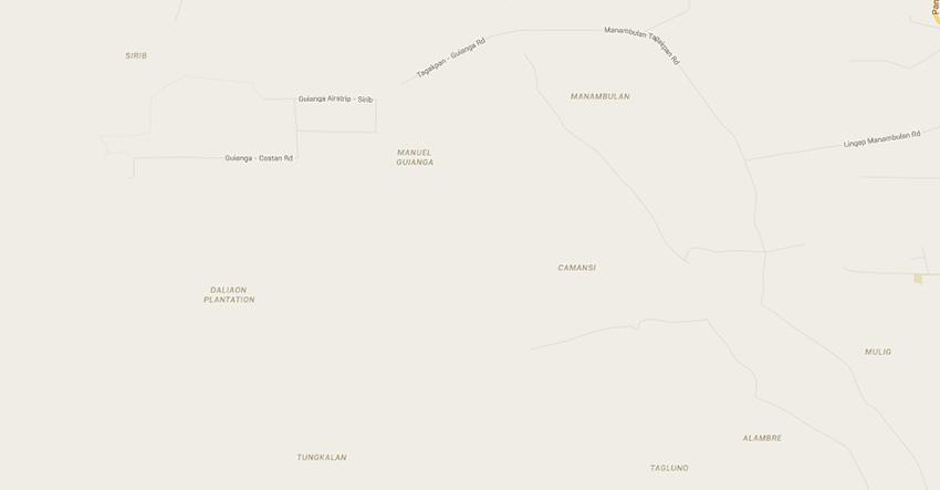 Google Map of the Bagobo-Klata Ancestral Domain Claim