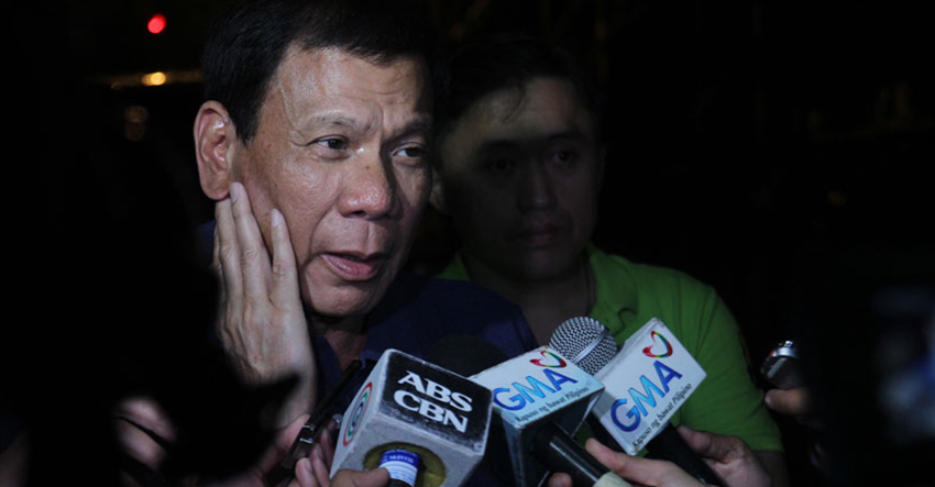 Duterte withdraws COC for mayor, files COC for president