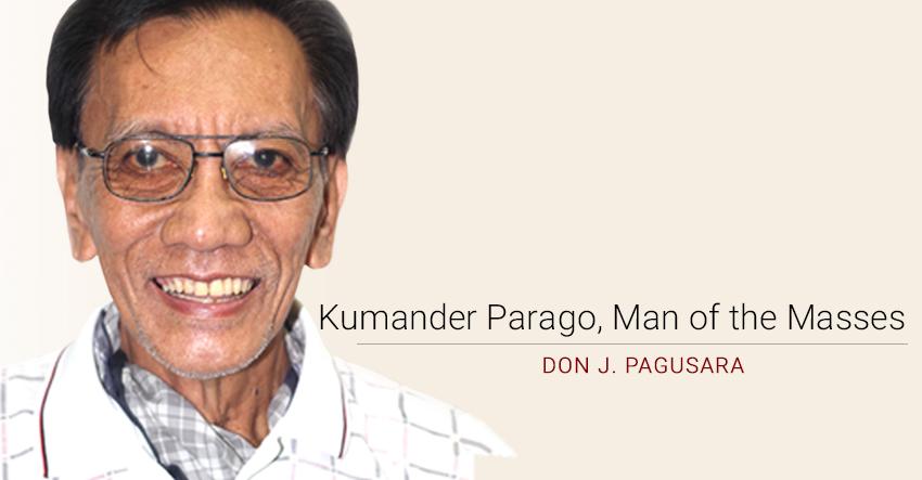 Kumander Parago, Man of the Masses
