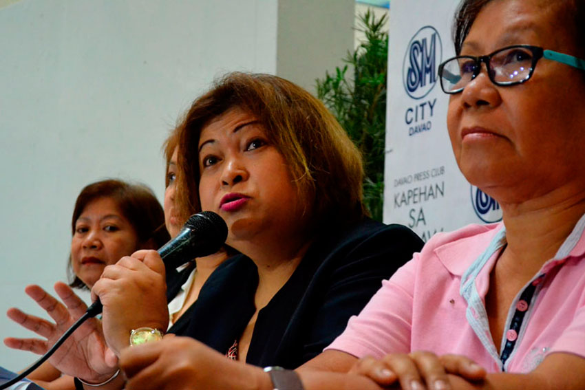 National Nutrition Council XI Regional Coordinator Maria Teresa Ungson says overweight and obesity among Filipino adults is considered a problem. She said around 32 percent of Filipino adults in the region are considered obese. (Ace R. Morandante/davaotoday.com)