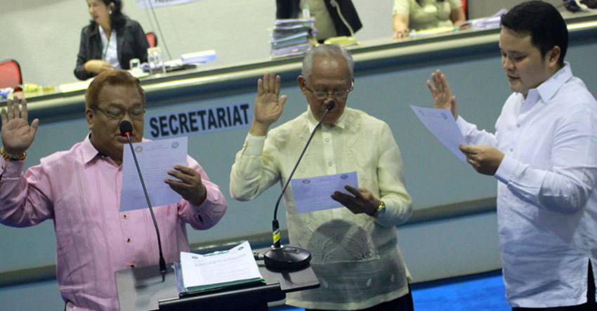 Davao's new council committee heads take oath