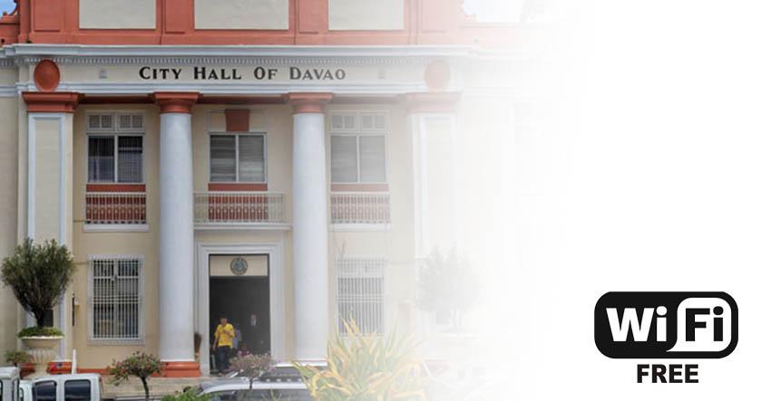 Davaoenos to enjoy free public wifi